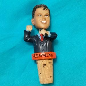San Francisco Giants Dave Flemming Wine Stopper